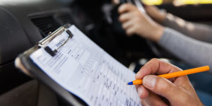 Show me tell me driving test sheet